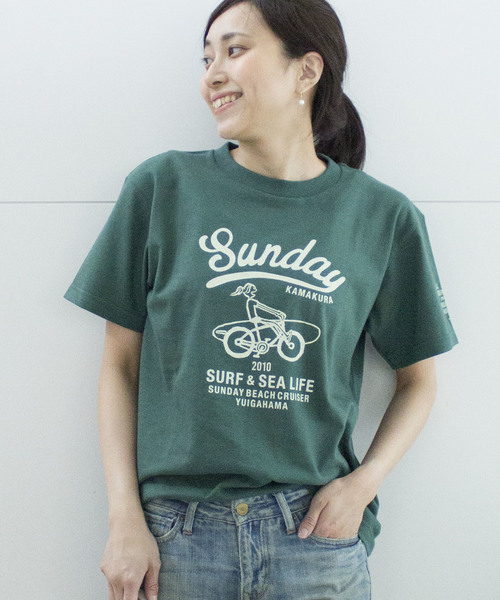 【SUNDAY BEACH CRUISER】MILEY CRUISER半袖Tシャツ
