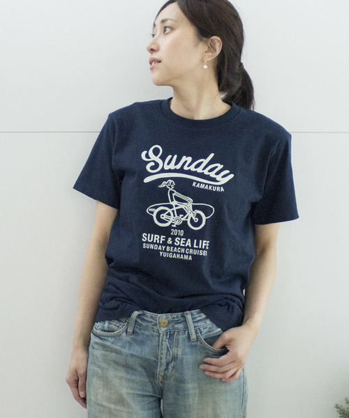 【SUNDAY BEACH CRUISER】MILEY CRUISER半袖Tシャツ