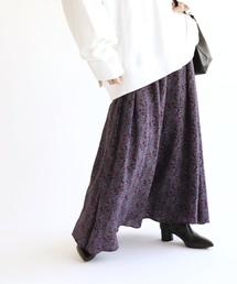 FRAMeWORK(フレームワーク)のペイズリープリントマキシスカート◆(スカート)