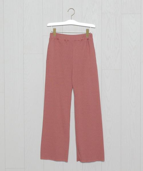<H>TERECO SLIT PANTS/パンツ