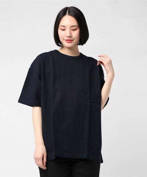 ∴【 Healthknit / ヘルスニット 】max weight crewneck Tshirts マックスウェイト クルーネック ルーズフィット 半袖Tシャツ SIP