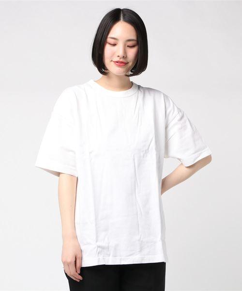 【 Healthknit / ヘルスニット 】max weight crewneck Tshirts マックスウェイト クルーネック ルーズフィット 半袖Tシャツ SIP