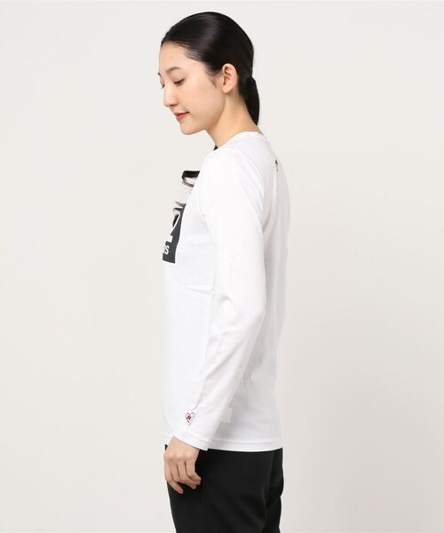 SY32 by SWEET YEARS(エスワイサーティトゥバイスィートイヤーズ)の「【SY32 by SWEET YEARS】BOXLOG L/S TEE(Tシャツ/カットソー)」|詳細画像