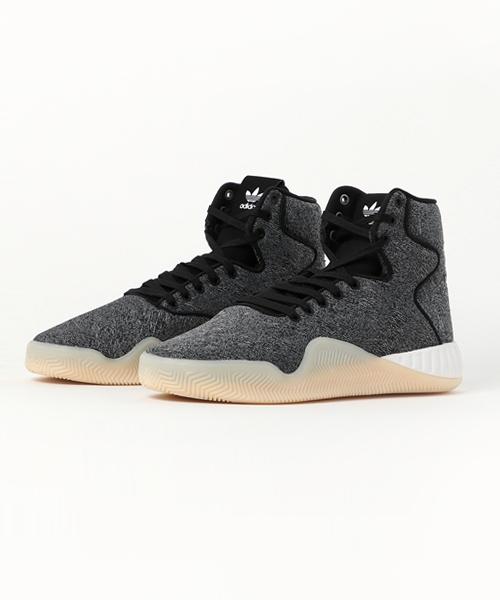 buy popular 8d6c3 0b7e2 adidas(アディダス)の「adidas Originals TUBULAR ISTNT JC CORE (BLACK/CRYSTAL