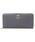 Samantha Thavasa Deluxe(サマンサタバサ デラックス)の「リボンブローチラウンド長財布(財布)」|グレー