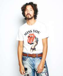 THE ROLLING STONES/MISS YOU Tシャツホワイト