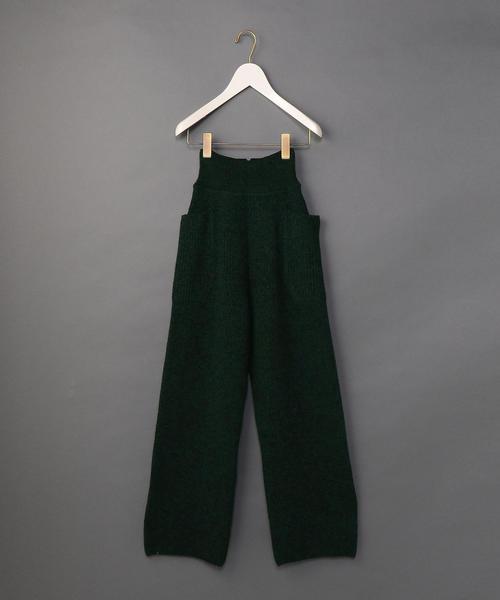 <6(ROKU)>RIB KNIT PANTS/パンツ