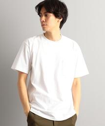 別注【WEB限定】 [ヘインズ] SC★★ Hanes BEEFY GLR ポケット Tシャツ †