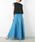 LUCA/LADY LUCK LUCA(ルカ/レディラックルカ)の「LC/LLL リネン マキシスカート(スカート)」|ブルー