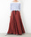 LUCA/LADY LUCK LUCA(ルカ/レディラックルカ)の「LC/LLL リネン マキシスカート(スカート)」|ボルドー