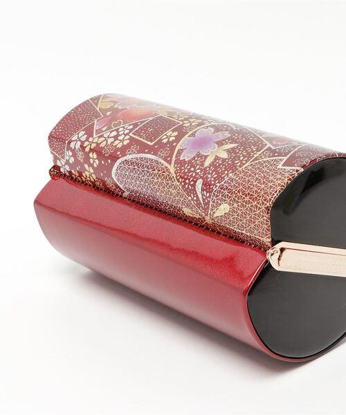 KYOETSU(キョウエツ)の「草履バッグセット 成人式 振袖用 2段草履 日本製生地 2点セット(草履、バッグ) Bタイプ(和装小物)」|詳細画像