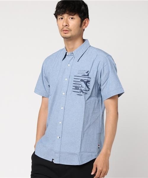 ESPACE VERT/エスパスヴェール プリントS/Sシャツ