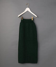 <6(ROKU)>RIB KNIT TIGHT SKIRT/スカート о