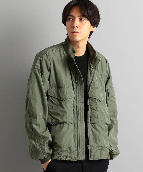 【WEB限定】[アルファ]SC★★ALPHA BONDING ミリタリージャケット/ ブルゾン