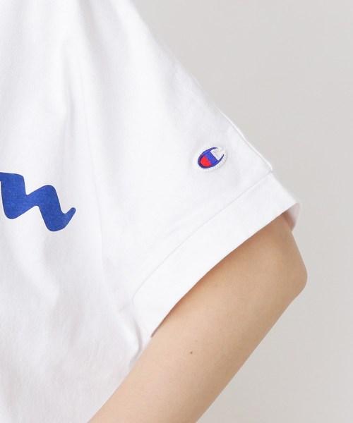 Champion ロゴワイドTシャツ