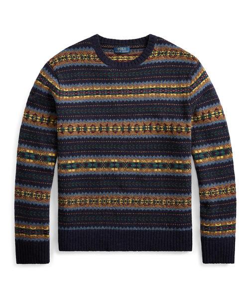 史上最も激安 フェアアイル ウール セーター, 質SHOP 冨田 77009e31