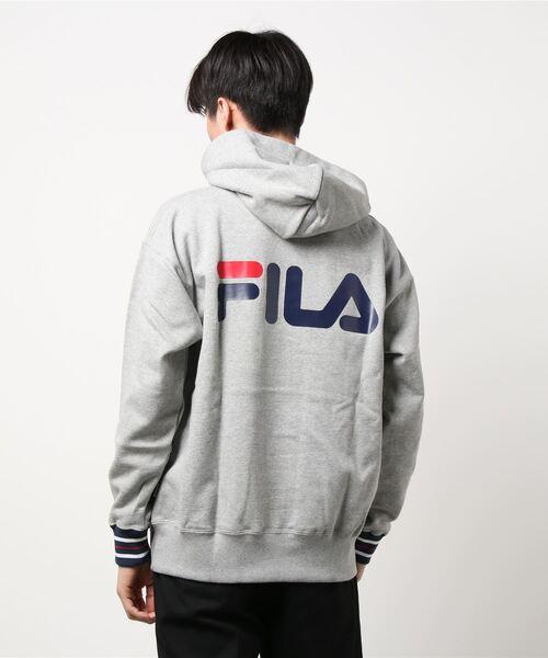FILA(フィラ)の「【FILA×MAJOR FORCE】コラボスウェットパーカー(パーカー)」 詳細画像