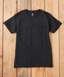 HANES(ヘインズ)のHANES / CREW NECK POCKET T SHIRTS(Tシャツ/カットソー)