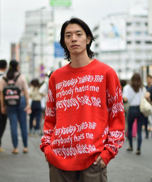 100%安い DankeSchon ME/ダンケシェーン/HATES Danke ME PRIVATE 総柄ニット(ニット/セーター)|DANKE SCHON(ダンケシェーン)のファッション通販, Joy Assists Japan:54d86613 --- skoda-tmn.ru
