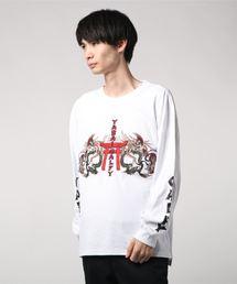 GALFY(ガルフィー)の【GALFY/ガルフィー】もっとYABAIロングTシャツ(Tシャツ/カットソー)