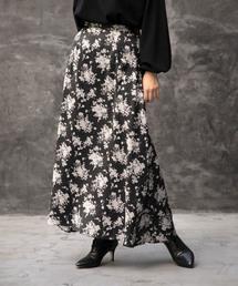 ROSE BUD(ローズバッド)のオリジナルプリントスカート(スカート)