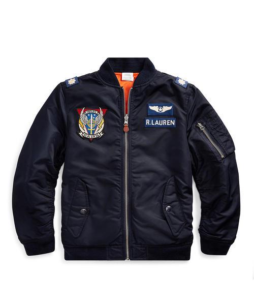 高質 リバーシブル ツイル LAUREN ボンバージャケット(ブルゾン) RALPH Polo Ralph Lauren ツイル Childrenswear(ポロラルフローレンチャイルドウェア)のファッション通販, ノルソルマニア:bc82bf26 --- skoda-tmn.ru