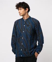 カヤ(カヤ)の【カヤ】−そうらい−爽籟メンズバンドカラーシャツ(シャツ/ブラウス)
