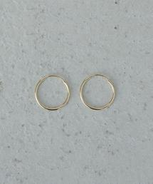 <LOREN STEWART>LIGHT INFINITY EARRINGS 14K YELLOW GOLD/ピアス.