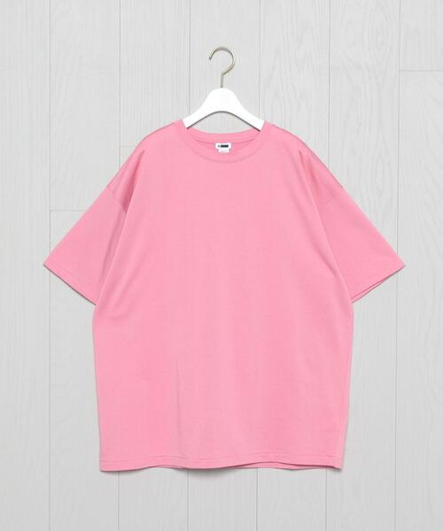 <H>LIGHT SWEAT SHORT SLEEVE PULLOVER/カットソー