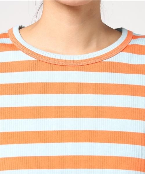 MM6/エムエムシックス/BorderRib T-Shirts