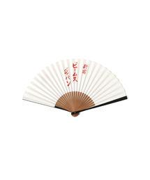 BEAMS JAPAN(ビームスジャパン)の「小丸屋住井 × BEAMS JAPAN / 別注 ビームス ジャパン ロゴ 扇子(扇子/うちわ)」