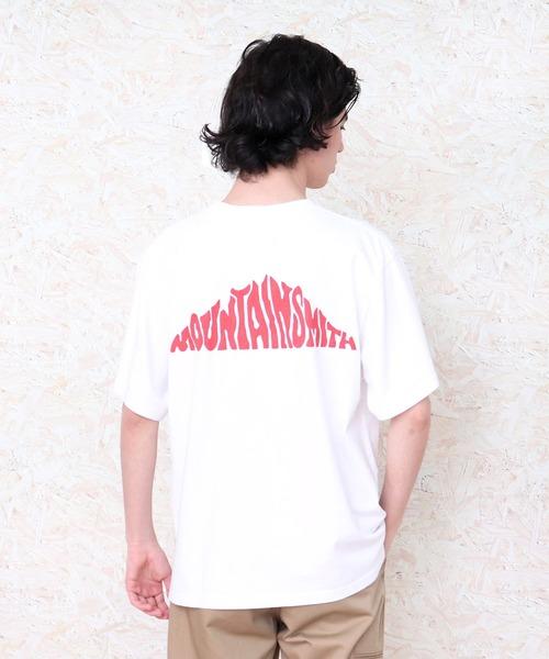 【MOUNTAIN SMITH/マウンテンスミス】19SS BACK BIG LOGO T バックプリントTシャツ
