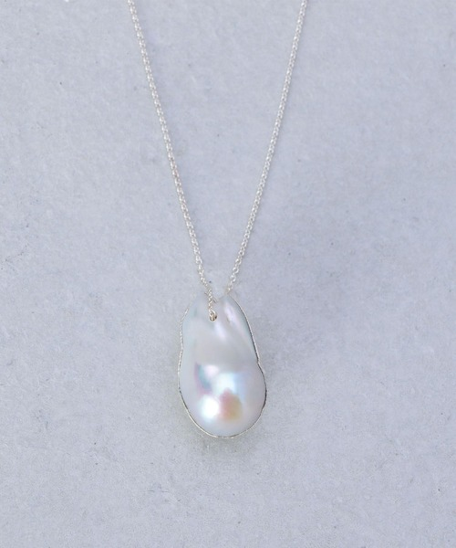 <Preek>SILVER FRESH WATER PEARL NECKLACE/ネックレス