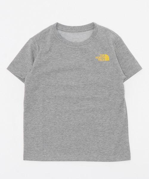 THE NORTH FACE(ザノースフェイス)の「THE NORTH FACE ザノースフェイス/NTJ32025 logo graphic T/ノースフェイスロゴTシャツ(Tシャツ/カットソー)」|グレー