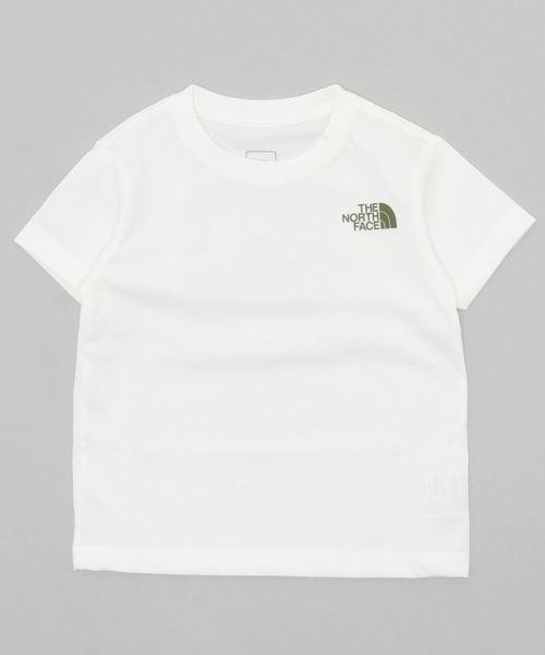 THE NORTH FACE(ザノースフェイス)の「THE NORTH FACE ザノースフェイス/NTJ32025 logo graphic T/ノースフェイスロゴTシャツ(Tシャツ/カットソー)」 ホワイト