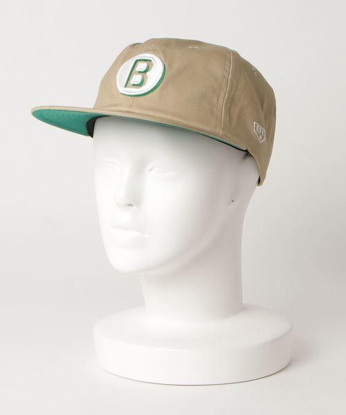 ∴【EBBETS FIELD FLANNELS/エベッツフランネルフィールド】2COL EMB LOGO CAP
