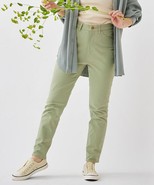 【6色展開・WEB限定サイズ】90sカラースリムパンツ(カラーパンツ/デニム/ジーンズ/スキニーパンツ)