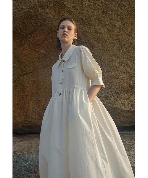【LeonoraYang】Volume flare dress chw1529