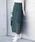 Aunt Marie's(アントマリーズ)の「AUNT MARIE'S  レースタイトロングスカート(スカート)」|グリーン