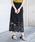 Aunt Marie's(アントマリーズ)の「AUNT MARIE'S  レースタイトロングスカート(スカート)」|ブラック