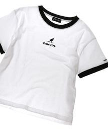 KANGOL(カンゴール)の【KANGOL / カンゴール】リンガーTシャツ(Tシャツ/カットソー)