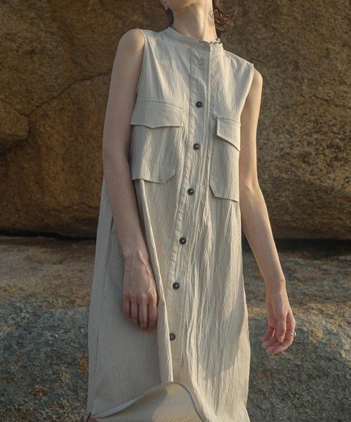 【LeonoraYang】Sleeveless dress chw1530