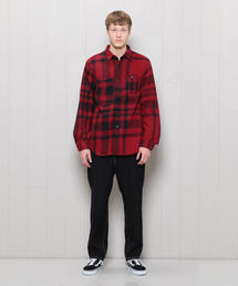 <Engineered Garments>BIG PLAID FLANNEL SHIRT/シャツ.