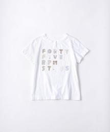 45R(フォーティファイブ・アール)のアップリケのTシャツ(Tシャツ/カットソー)