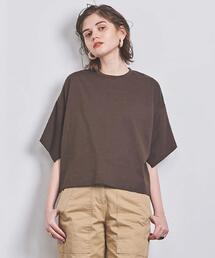 <SACRA(サクラ)>スリットスリーブ Tシャツ