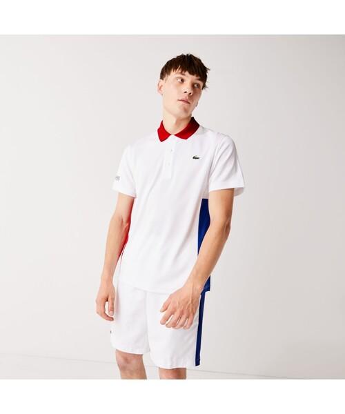 トリプルカラーテニスポロシャツ