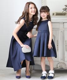 ae314a4de3afe DRESS LAB(ドレスラボ)の\キッズ パーティー ドレス/クラシカルフレアワンピースドレス(
