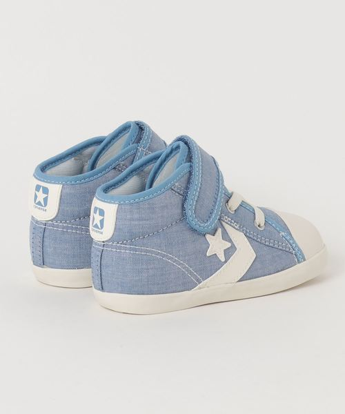 CONVERSE BABY CANVAS CHEVRONSTAR N V-1 (ブルー)
