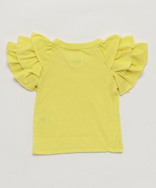 トリプルフリルTシャツ