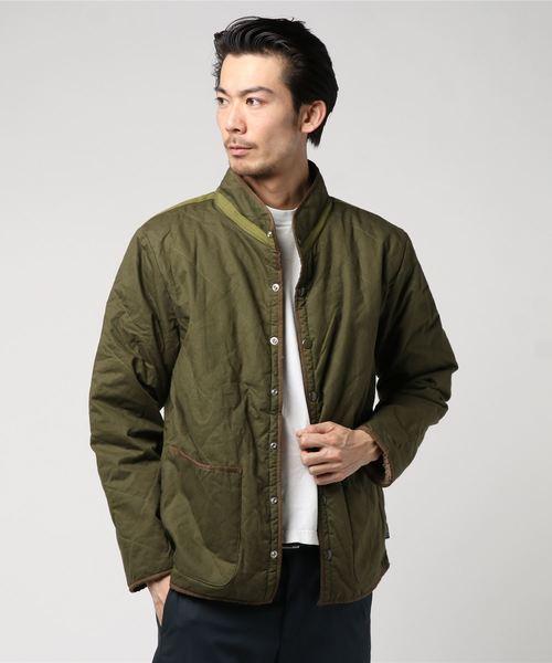 QUILT BASIC JACKET / ARMY TWILL キルトジャケット